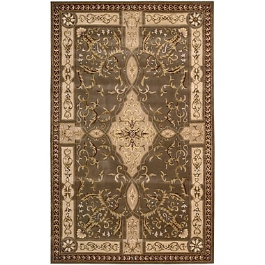 Nourison Versailles Palace Brown/Tan Area Rug; 7'6'' x 9'6''