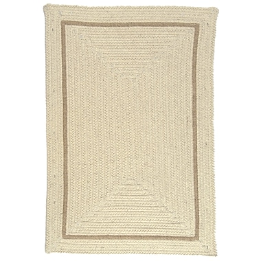 Colonial Mills Shear Natural Canvas Area Rug; Runner 2' x 10'