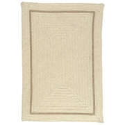 Colonial Mills Shear Natural Canvas Area Rug; Rectangle 3' x 5'