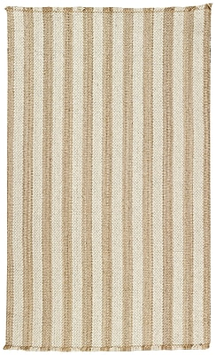 Capel Nags Head Tan/White Area Rug; 2' x 3'