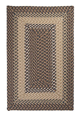 Colonial Mills Tiburon Stone & Blue Braided Indoor/Outdoor Area Rug; Rectangle 10' x 13'