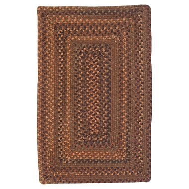 Colonial Mills Ridgevale Audobon Russet Area Rug; Square 4'