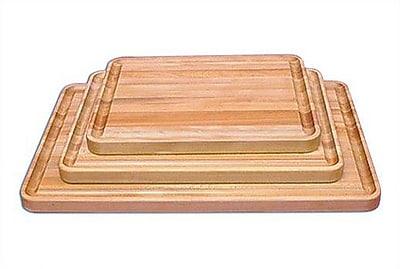 Catskill Craftsmen Professional Style Wood Cutting Board; Large