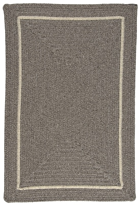 Colonial Mills Shear Natural Rockport Gray Area Rug; Square 4'