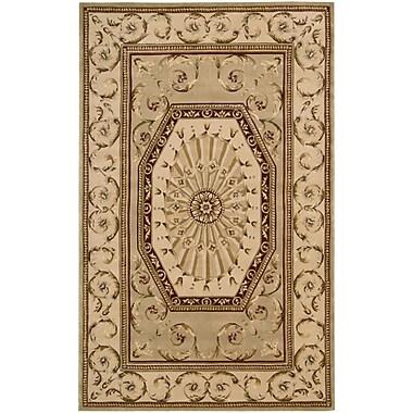 Nourison Versailles Palace Brown/Tan Area Rug; 8' x 11'