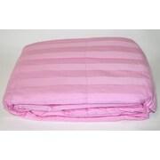 Cotton Loft 300 Thread Count All Natural Down Alternative 100pct Cotton Filled Throw; Dark Pink