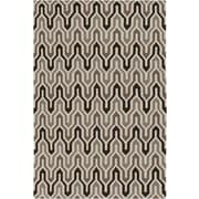 Jill Rosenwald Rugs Fallon Coffee Bean Hand-Woven Chocolate Area Rug; 2' x 3'