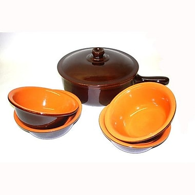 Piral Terracotta 6-Piece Cookware Set; No