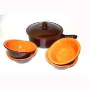 Piral Terracotta 6-Piece Cookware Set; Yes