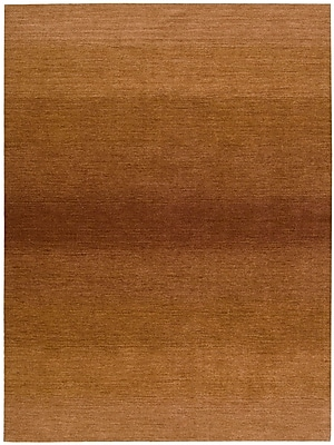 Calvin Klein Rugs Linear Glow Hand-Woven Watercolor Cumin Area Rug; Runner 2'3'' x 7'6''