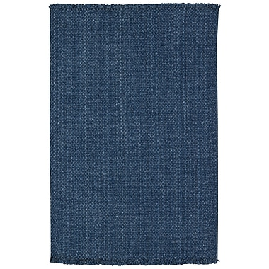 Capel Nags Head Blue Area Rug; Runner 2' x 8'