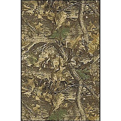 Milliken Realtree Timber Solid Camo Area Rug; Rectangle 2'8'' x 3'10''