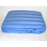 Cotton Loft 300 Thread Count All Natural Down Alternative 100pct Cotton Filled Throw; Periwinkle