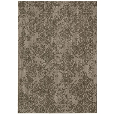 Calvin Klein Rugs Urban Punjab Vetiver Area Rug; Rectangle 3'6'' x 5'6''
