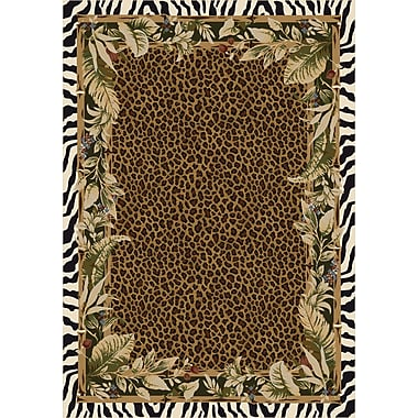 Milliken Signature Jungle Safari Emerald Area Rug; Square 7'7''