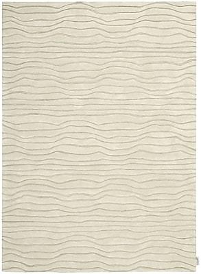 Calvin Klein Rugs Canyon Hand-Woven Estuary Sand Area Rug; Runner 2'3'' x 7'6''