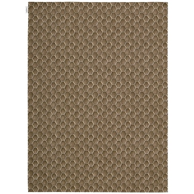 Calvin Klein Rugs Loom Select Neutrals Pasture Fawn Area Rug; 3'6'' x 5'6''