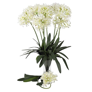 Nearly Natural 29'' African Lily Stem in White (Set of 12)