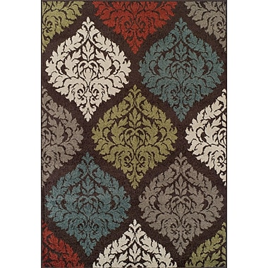 Dalyn Rug Co. Marcello Chocolate Area Rug; 4'11'' x 7'