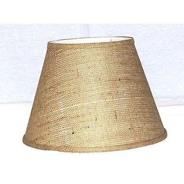 Lamp Factory 14'' Burlap Empire Lamp Shade
