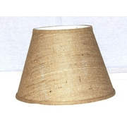 Lamp Factory 14'' Burlap Empire Lamp Shade