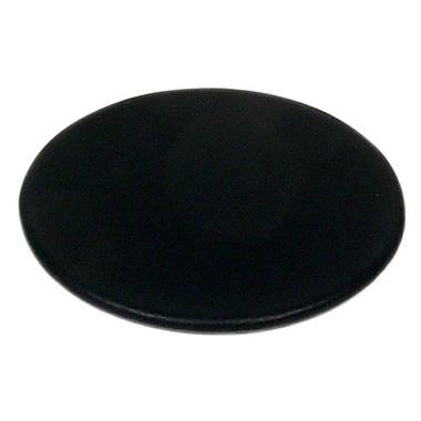 Dacasso 1000 Series Classic Top-Grain Leather Coaster in Black
