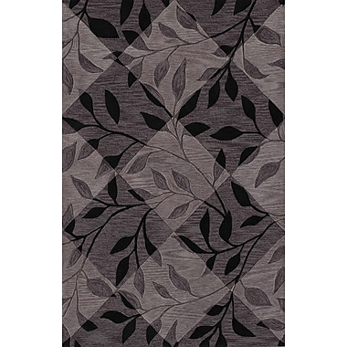 Dalyn Rug Co. Studio Black Checked Area Rug; 8' x 10'