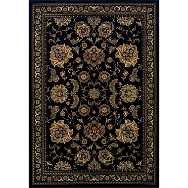 Dalyn Rug Co. Wembley Black Area Rug; 3' x 5'