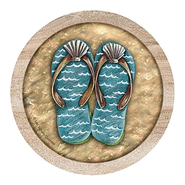 Thirstystone Flip Flops Coaster (Set of 4)