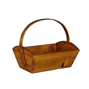 Antique Revival Blar Grape Fruit Basket; Natural