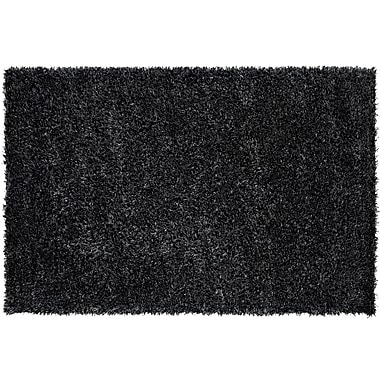 Dynamic Rugs Metropolitan Black/White Rug; 5' x 8'