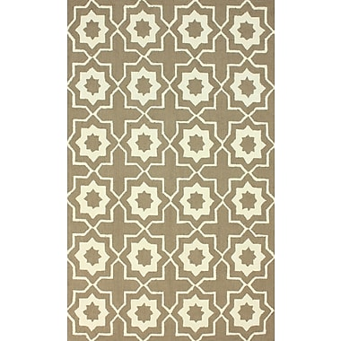 nuLOOM Serendipity Brown Super Bold Area Rug; 7'6'' x 9'6''
