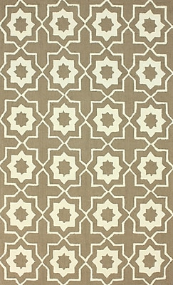 nuLOOM Serendipity Brown Super Bold Area Rug; 5' x 8'