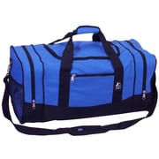 Everest 25'' Sporty Travel Duffel; Royal Blue / Black