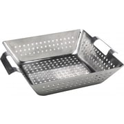 Bull Outdoor Stainless Steel Square Wok