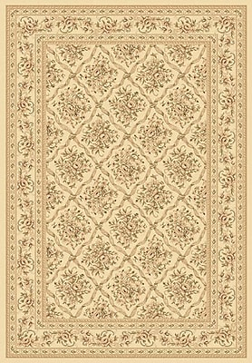 Dynamic Rugs Legacy Deerfield Ivory Rug; Rectangle 2' x 3'6''