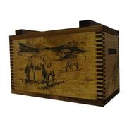 Evans Sports Standard Storage Box w/ Horse Print