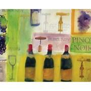 Magic Slice 12'' x 15'' Wine Design Cutting Board
