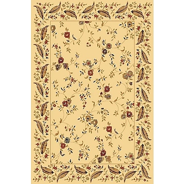 Dynamic Rugs Yazd Cream Area Rug; 5'3'' x 7'7''