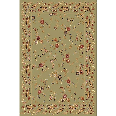 Dynamic Rugs Yazd Green Area Rug; 2' x 3'6''