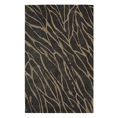 Dynamic Rugs Nolita Brown Area Rug; 5' x 8'