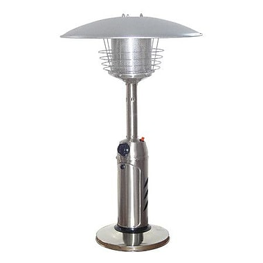 AZ Patio Heaters 11,000 BTU Propane Patio Heater; Stainless Steel