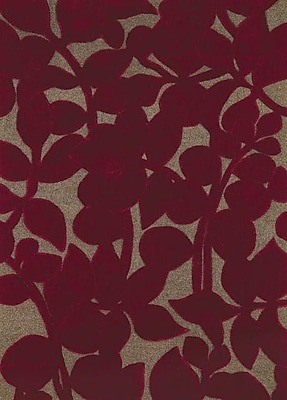 Dynamic Rugs Allure Allurerary Rich Red Area Rug; Rectangle 5' x 8'