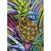 Magic Slice 5'' x 7'' Pineapple Design Cutting Board