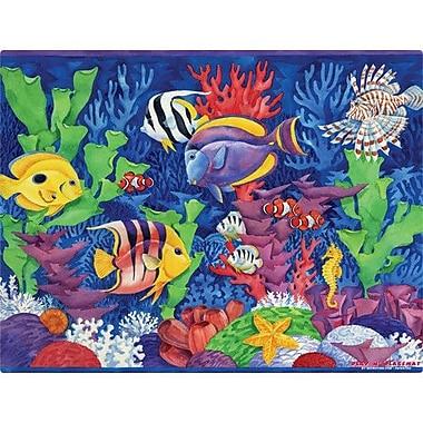 Magic Slice Tropical Fish Play Placemat