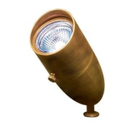 Dabmar Lighting 1-Light Spot Light; Antique Brass