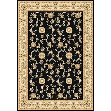 Dynamic Rugs Legacy Arronwood Black Rug; 7'10'' x 10'10''