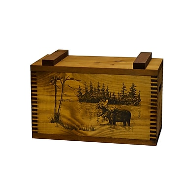 Evans Sports Standard Storage Box w/ Moose Print