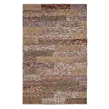 Dynamic Rugs Allure Wine Area Rug; 4' x 6'