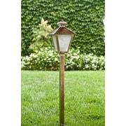 Dabmar Lighting 1-Light Pathway light; Antique Brass